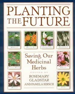 Planting the Future: Saving our Medicinal Herbs : Edited by Rosemary Gladstar and Pamela Hirsch -- click for an excerpt from this book