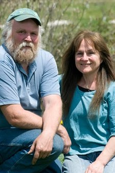 Working the land leads to love of place, so true for Nancy and Michael on their family homestead in the White Mountains of New Hampshire. -- photo: Trav Williams